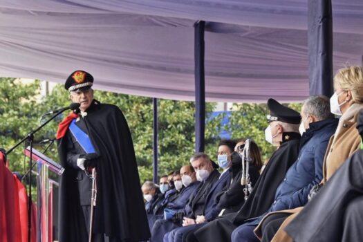 Ultimo discorso da Comandante Generale dell'Arma per il generale Giovanni Nistri