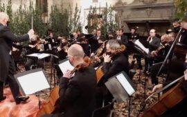 Il concerto di Capodanno 2021 a Cortona eseguito dalla CorOchestra