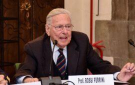 Il professor Pierluigi Rossi Ferrini