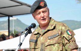 Generale Pietro Serino nuovo capo di Stato Maggiore dell'Esercito
