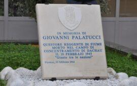 Il cippo in memoria di Giovanni Palatucci