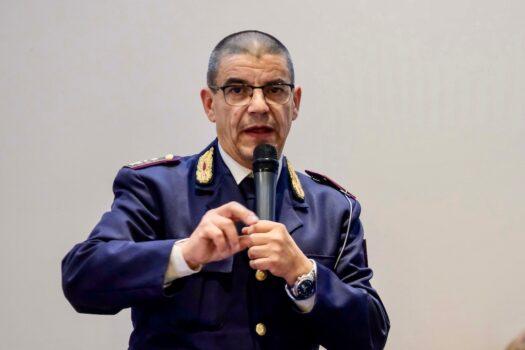 Il commissario Andrea Borghi della Polizia Stradale di Firenze