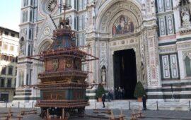 Piazza del Duomo deserta per lo Scoppio del carro 2021