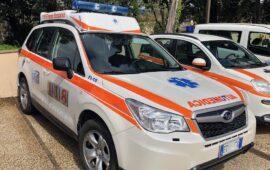 Un'automedica del servizio emergenza 118 di Firenze