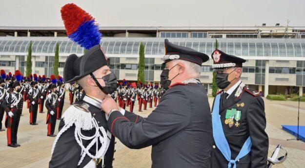 Il Comandante Generale dei Carabinieri Luzi alla Scuola Marescialli e Brigadieri