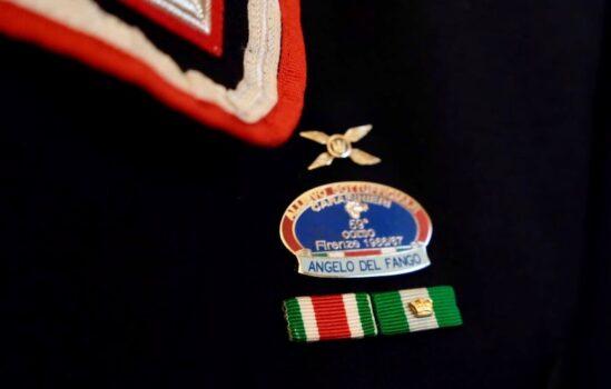 Il distintivo degli allievi del 59° corso